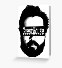 GuestHouse Face Logo  Greeting Card
