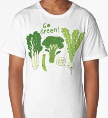 Go Green! (Leafy Green!) Long T-Shirt