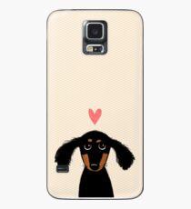Dachshund Puppy Love Case/Skin for Samsung Galaxy
