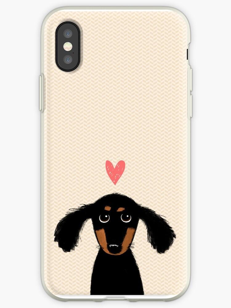 «Dachshund Puppy Love» de Jenn Inashvili