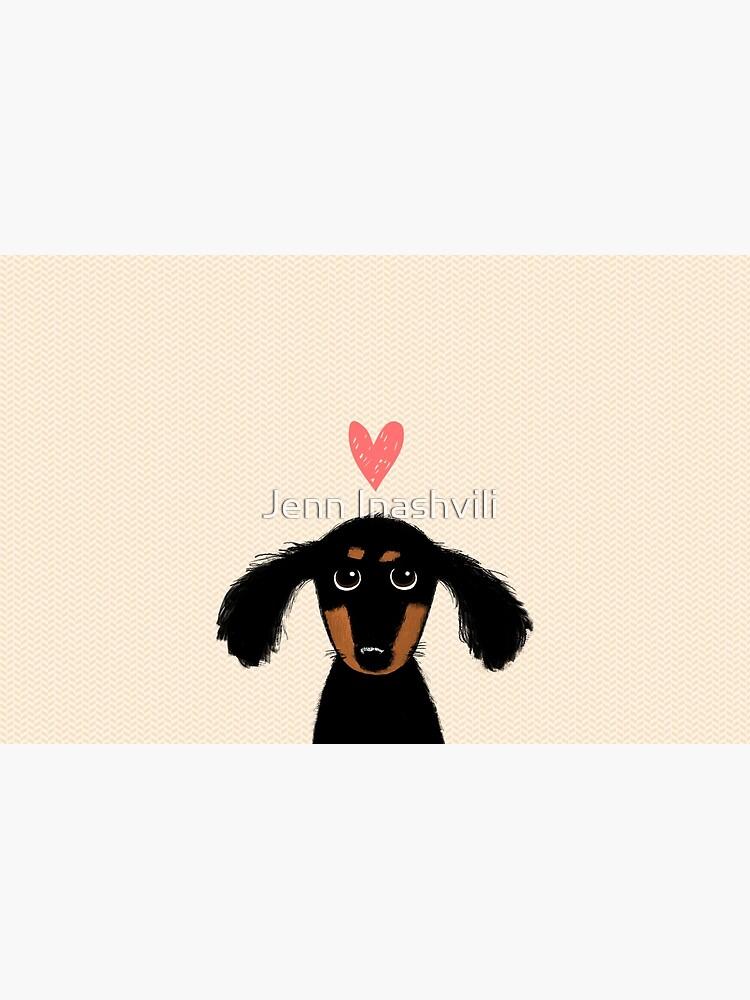 Dachshund Puppy Love by ShortCoffee