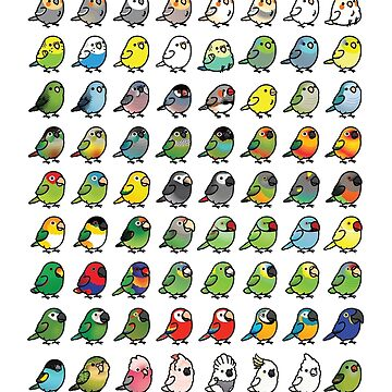 The Chubby Bird Collection by birdhism