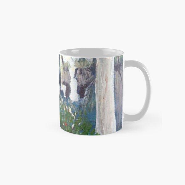 light through the grass trees Classic Mug