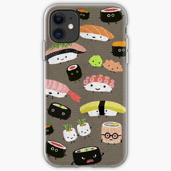 happy santa sushi iphone 11 case