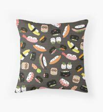 Sushi Party Throw Pillow