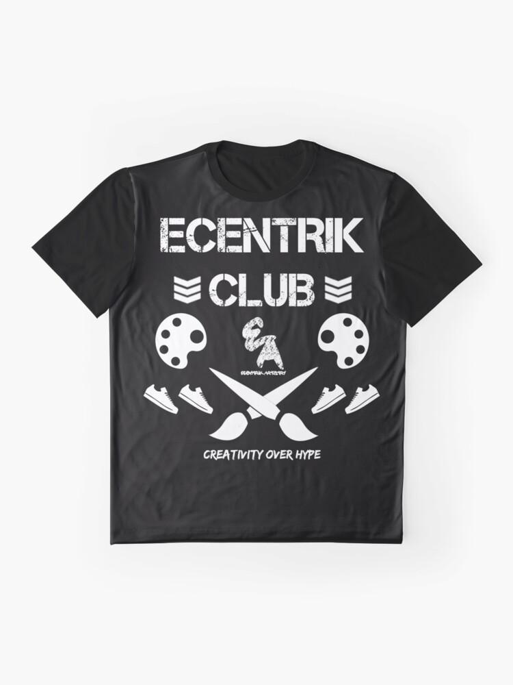Alternate view of Ecentrik Club Graphic T-Shirt