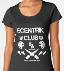 Ecentrik Club Women's Premium T-Shirt