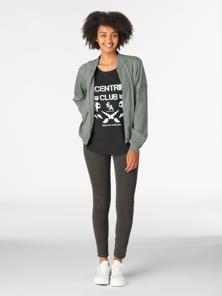 Alternate view of Ecentrik Club Premium Scoop T-Shirt