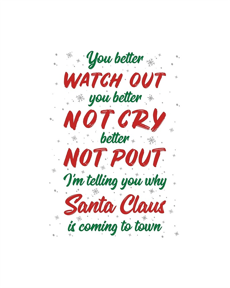 Santa Clause Is Coming To Town by MentDesigns