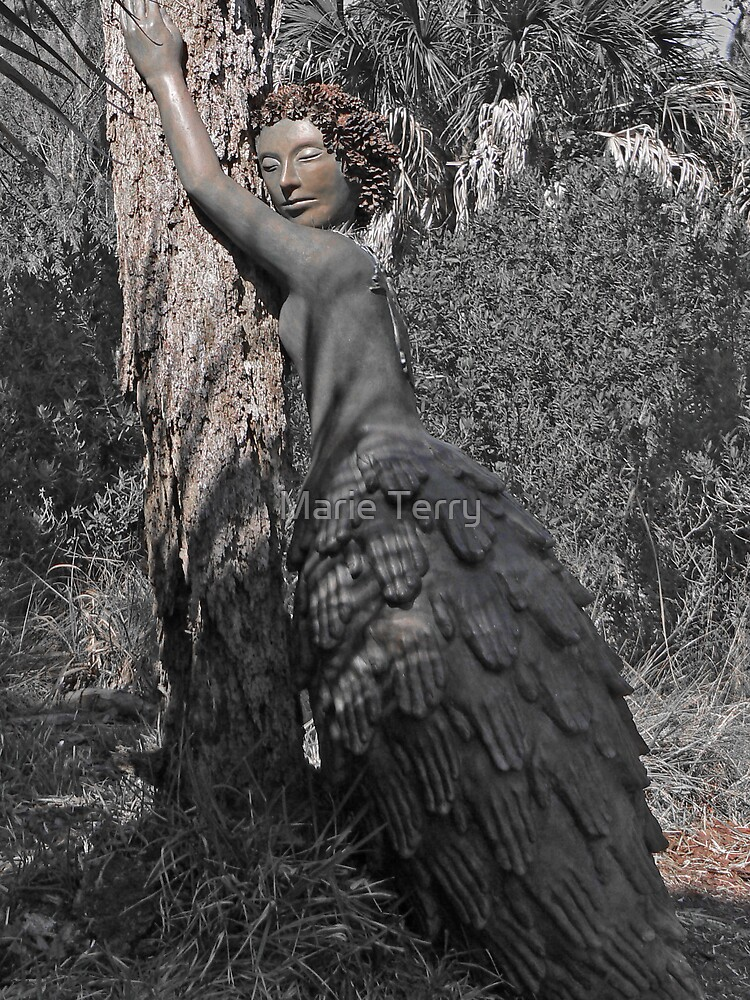 Pinecone Lady by Marie Terry