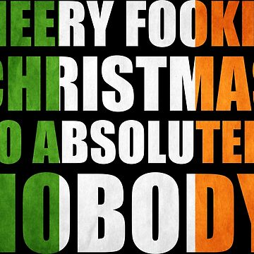 Merry Fookin Christmas CONOR MCGREGOR by rozapete