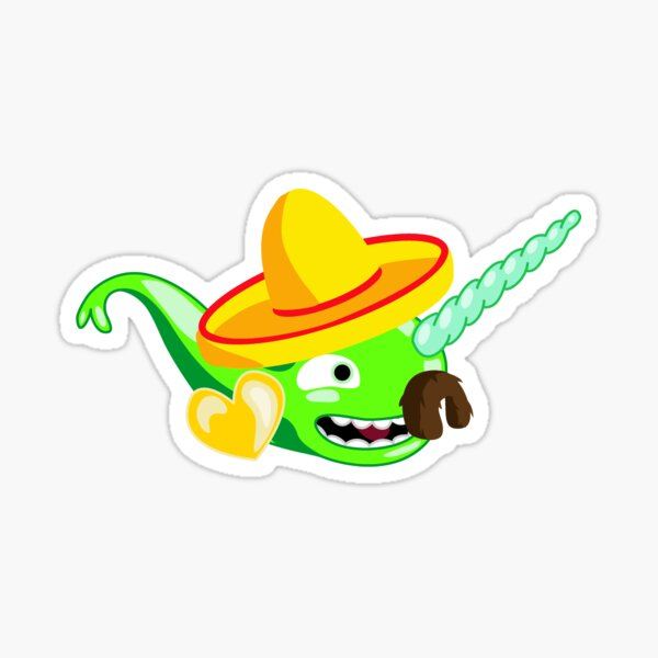 Sombrerowhal Sticker