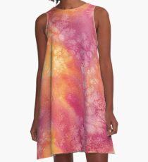 Autumn Colors A-Line Dress