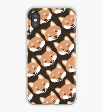 Cute Shiba Inu Face(s) iPhone Case