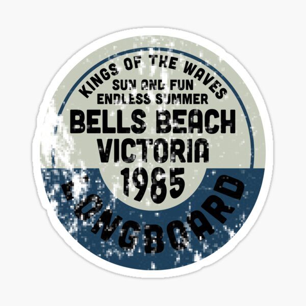 Vintage Bells Beach Australia Surf Sticker