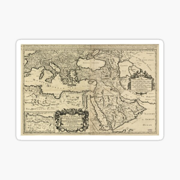 Tugra autocollant-sticker-Osmanli Imparatorlugu-Fatih Sultan Mehmet