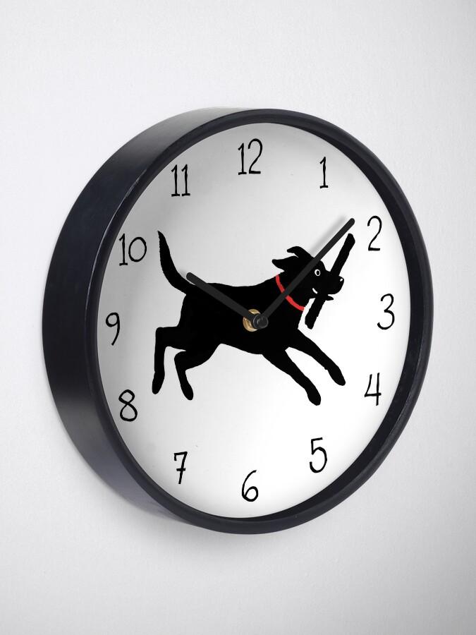 Alternate view of Happy Lab Clock