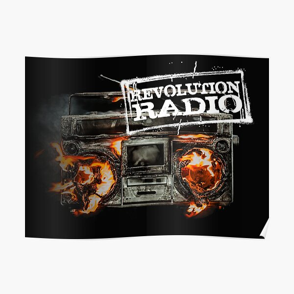 revolution radio - I was wiser too than you had expected Poster