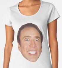 Ich beobachte dich Frauen Premium T-Shirts