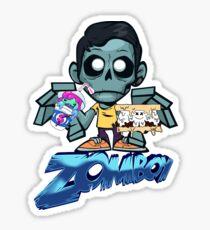 Zomboy, Slushii, Marshmello Sticker