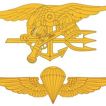SEALs Parachutist by jcmeyer