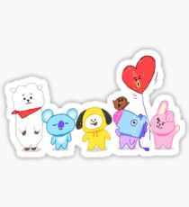 BT21 - together forever Sticker