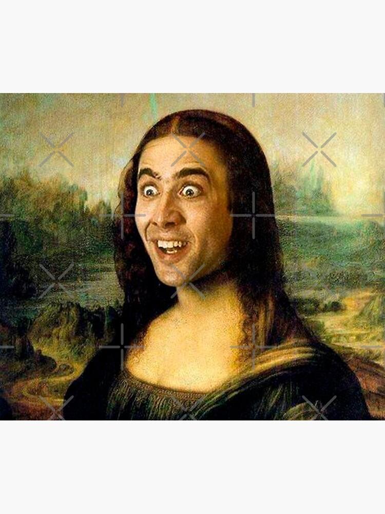Mona Lisa ~ Nicolas Cage by TroyBolton17
