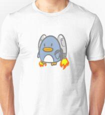 Flying Jetpack Penguin T-Shirt