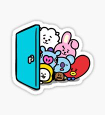 BT21 - Hello Sticker