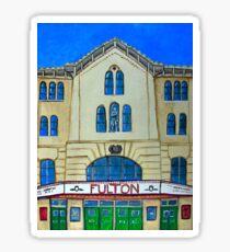 Fulton Theater Lancaster Sticker