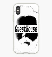 GuestHouse Face Logo White iPhone Case