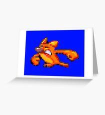 Earthworm Jim - Angry Kitty Greeting Card
