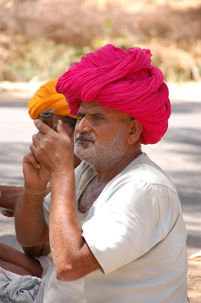 In Rajasthan, India by Peter Gostelow