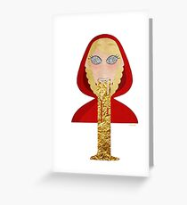 Lich Lup Greeting Card