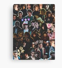 STRANGER THINGS CHARACTERS  Canvas Print