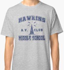 Stranger Things 2 - Hawkins AV Club Classic T-Shirt