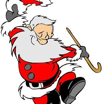 Christmas Santa Claus Happy Funny by RajaArslan321