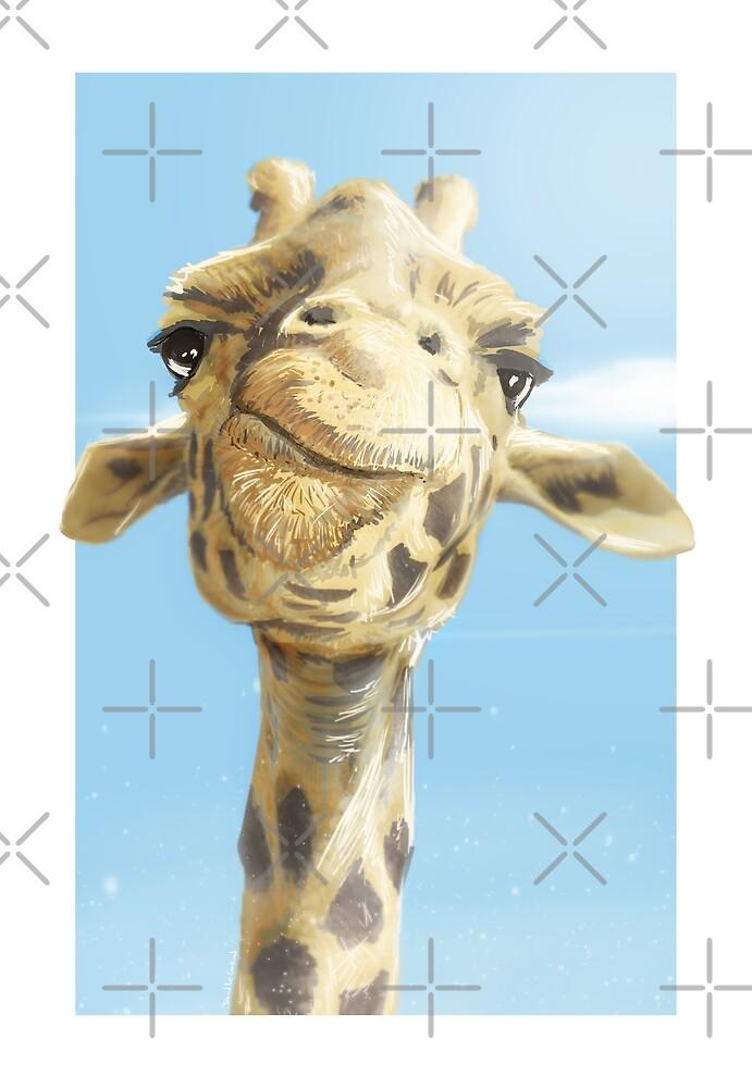 Madame Giraffe by David Le Cardinal