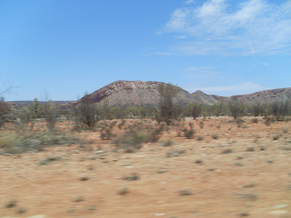 Message from the McDonnell Ranges near Alice Springs by chris51