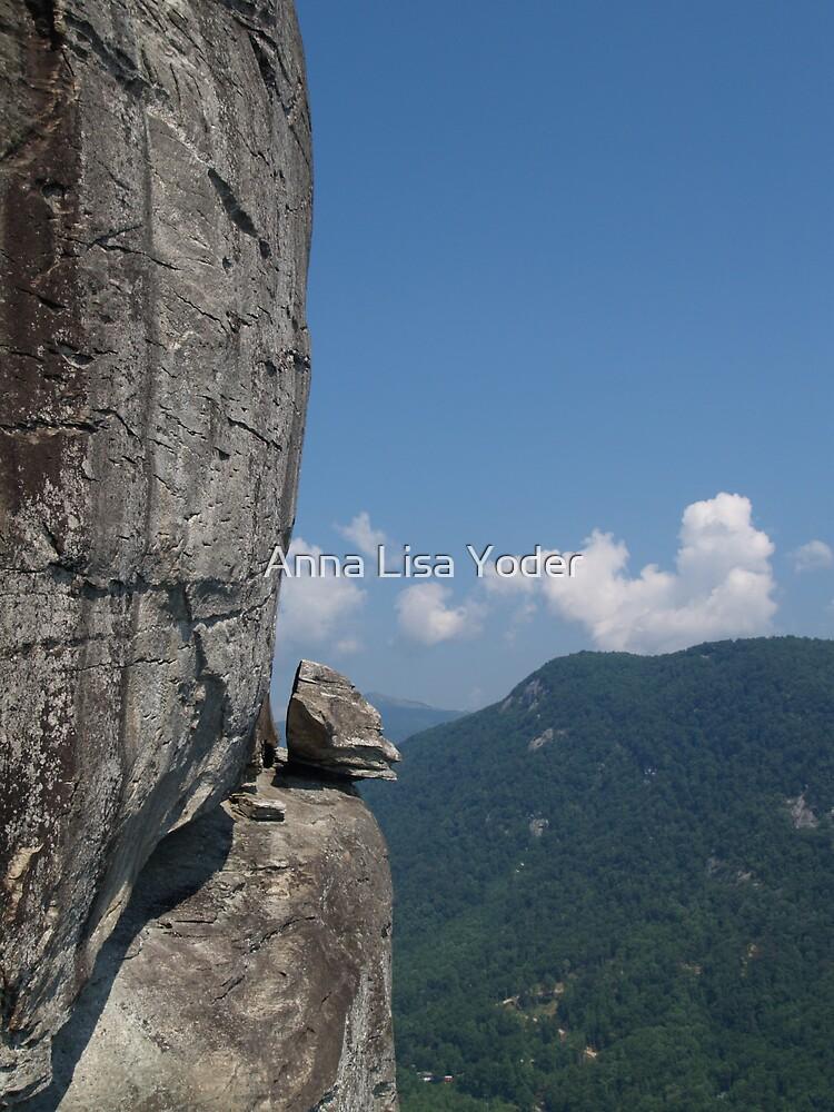Devil's Head at Chimney Rock, NC by Anna Lisa Yoder