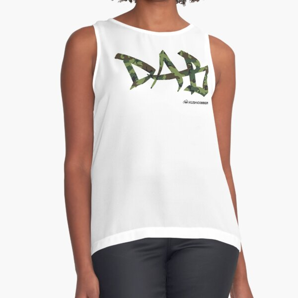DAB camo Sleeveless Top