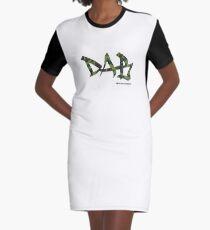 DAB camo Graphic T-Shirt Dress