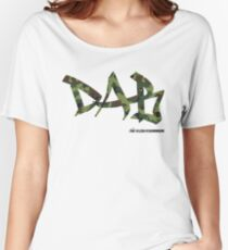 DAB camo Women's Relaxed Fit T-Shirt