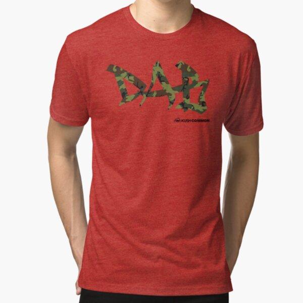 DAB camo Tri-blend T-Shirt