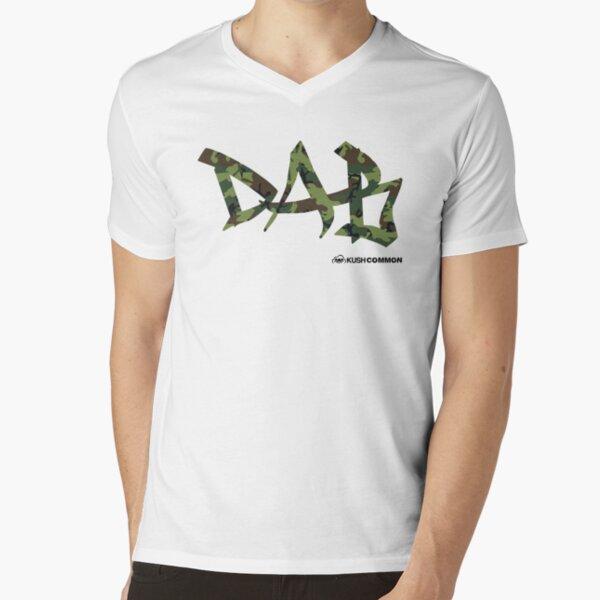 DAB camo V-Neck T-Shirt