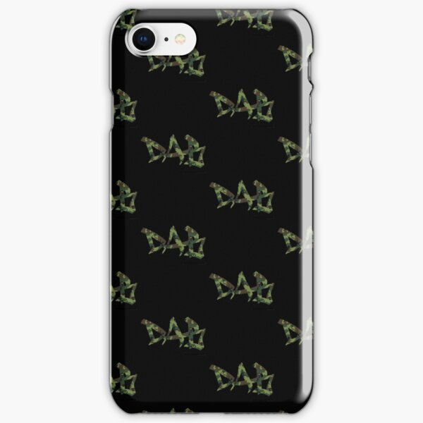 DAB camo iPhone Snap Case