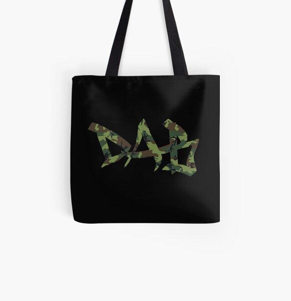 DAB camo All Over Print Tote Bag
