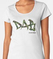 DAB camo Premium Scoop T-Shirt