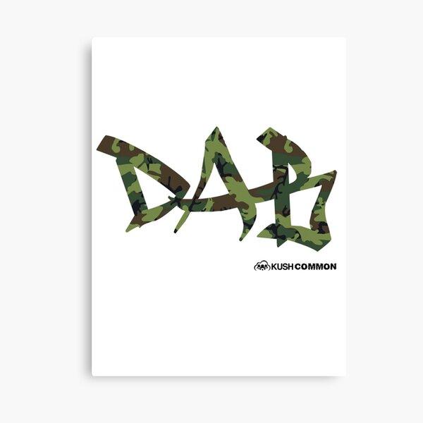 DAB camo Canvas Print