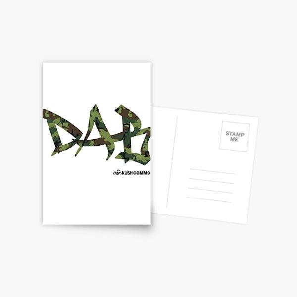 DAB camo Postcard